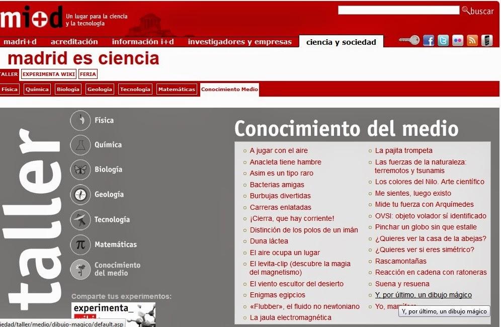http://www.madrimasd.org/cienciaysociedad/taller/medio/default.asp
