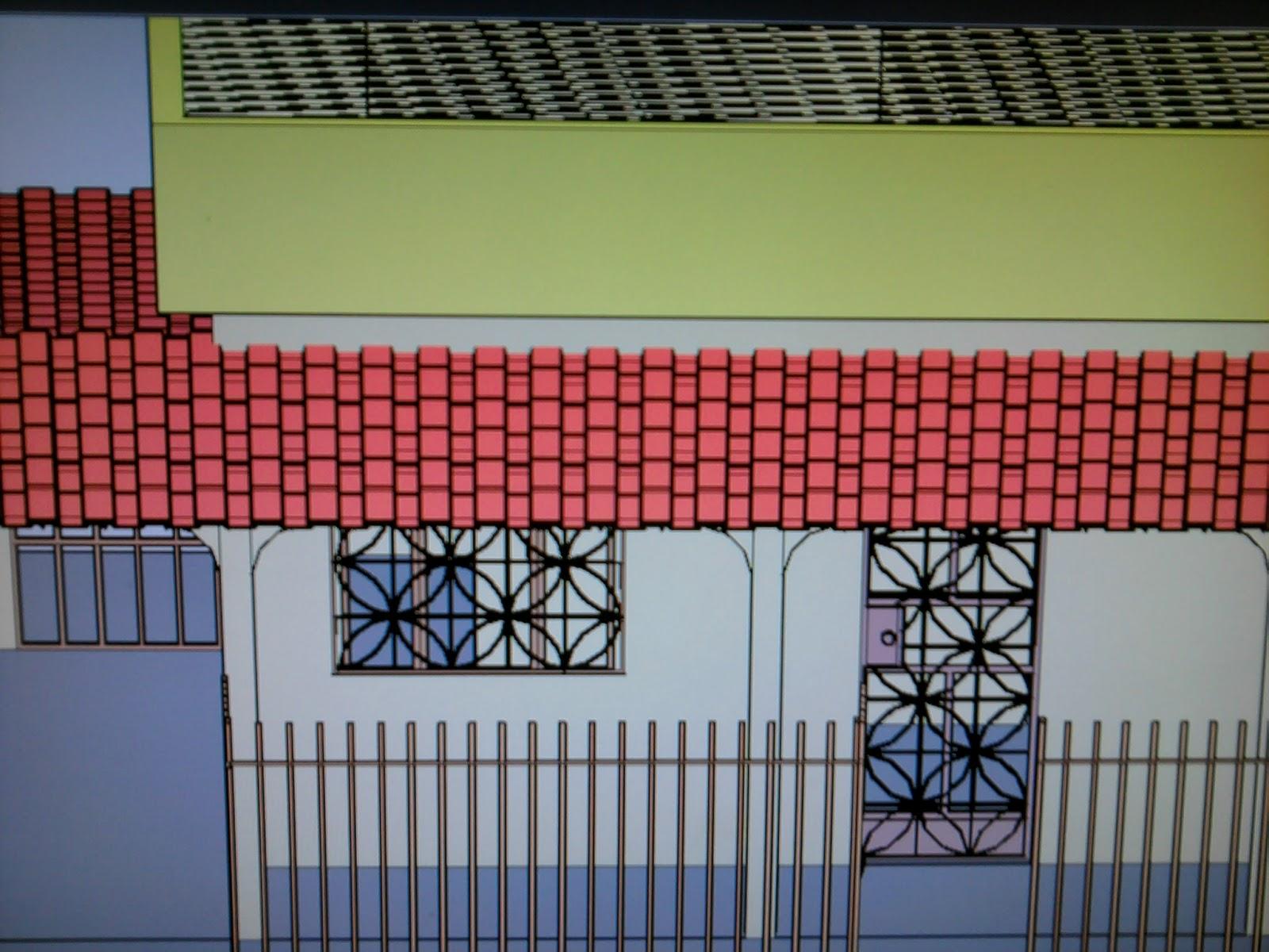 BELOCAD: Baixar Casa 3D para Autocad #9F2C36 1600x1200 Baixar Banheiro Para Autocad