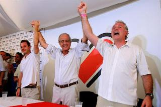 Rodolfo D'Onofrio, Jorge Brito, Matias Patanian, Ganadores, Elecciones River Plate 2013, River, River Plate,