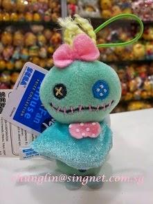 (INSTOCK email me) 10cm Japan Disney Sega Rain Doll Scrump