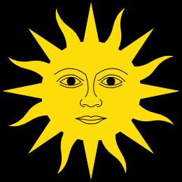 Dibujo HERLDICO Sol de Mayo