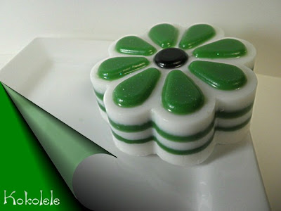 Mold Market Saint Patrick Day Flower Soap Mold