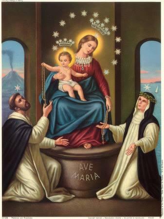 OCTOBER 7 - OUR LADY OF THE HOLY ROSARY - L-Imqaddsa Verġni Marija tar-Rużarju