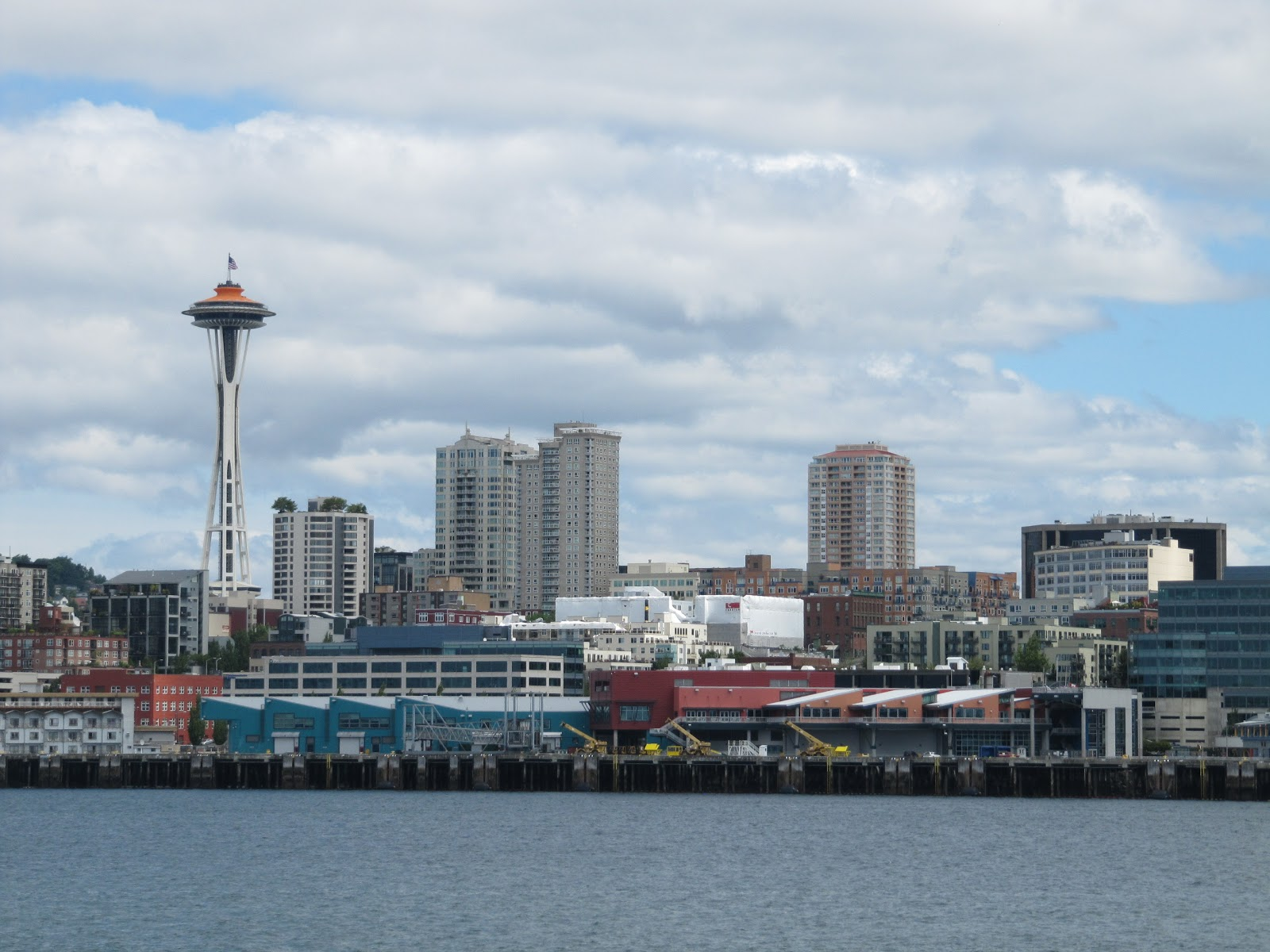 Seattle con space needle