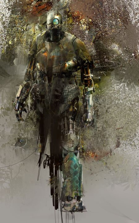 Richard Anderson flaptraps conceptual art illustrations games fantasy science fiction Robot