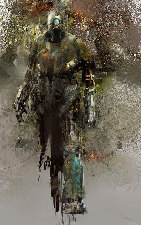 Richard Anderson flaptraps arte conceitual ilustrações pinturas games fantasia ficção científica Robô