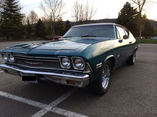 1968 Chevrolet Chevelle for Sale - Buy American Muscle Car