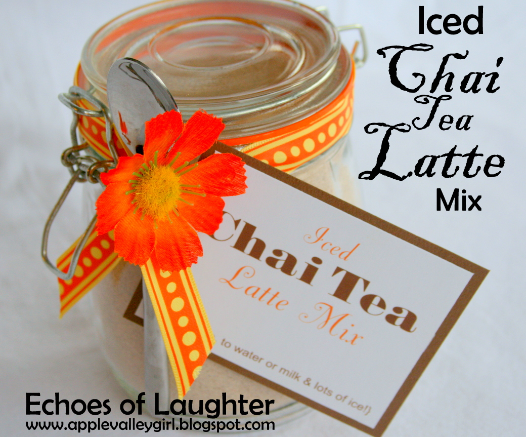 Echoes of Laughter: Iced Chai Tea Latte Mix...