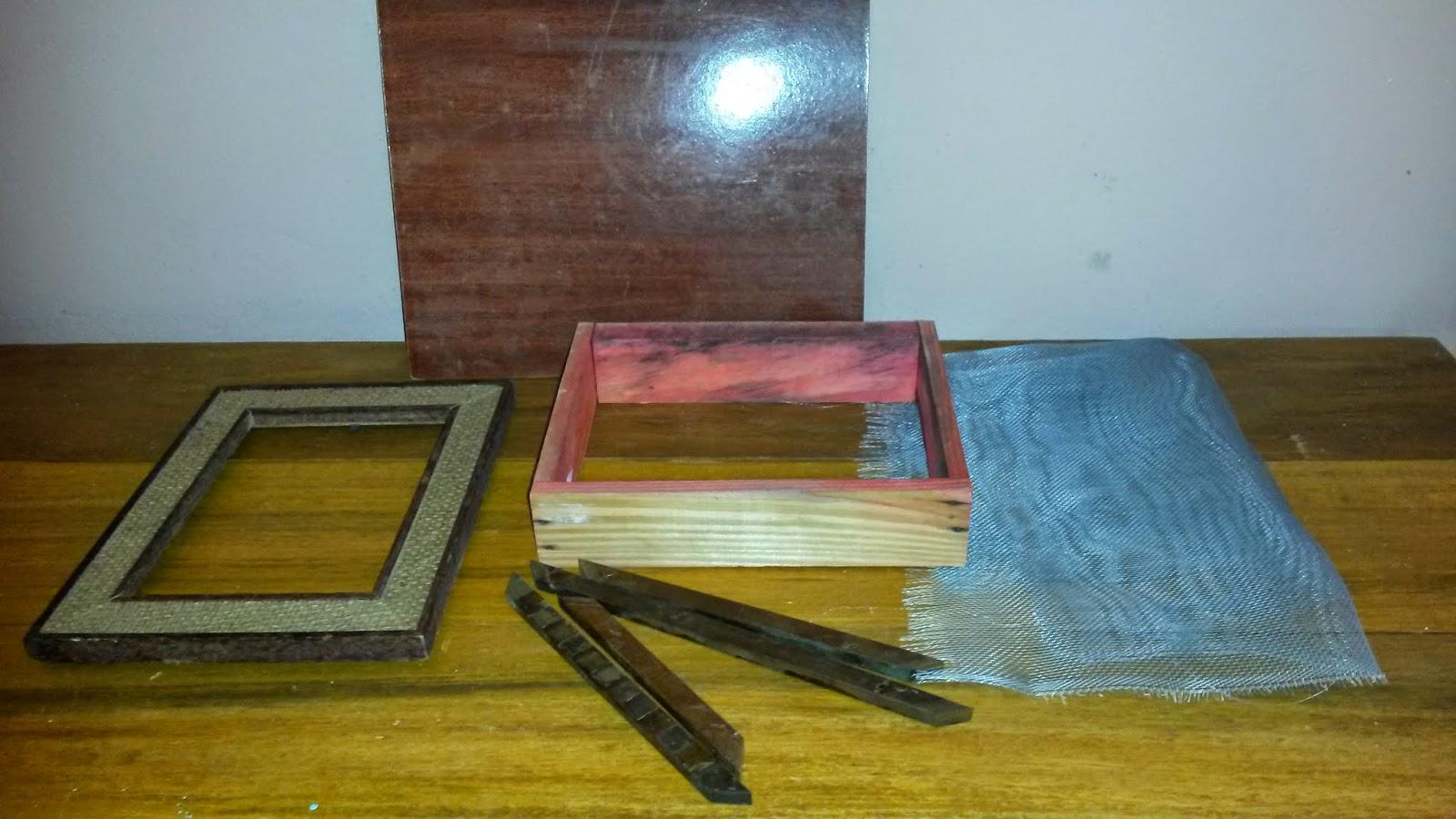 Depois de lixar o quadrado de madeira medi cortei e instalei o  #87741F 1600x900