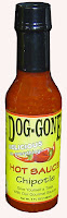 Dog-gone chipotle hot sauce