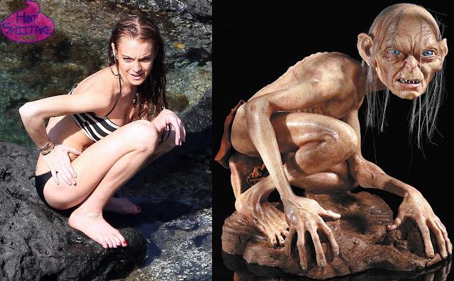 Lindsay Lohan Gollum