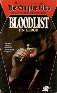Portada original de La lista sangrienta, de P.N. Elrod
