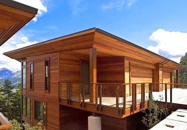 Rumah Minimalis akan memberikan inspirasi gambar desain rumah kayu