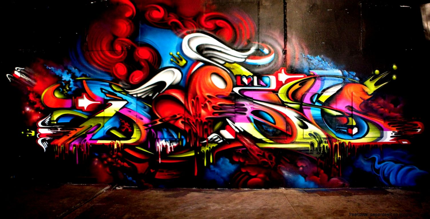 Graffiti yes wallpaper hd free high definition wallpapers for Graffiti wallpaper