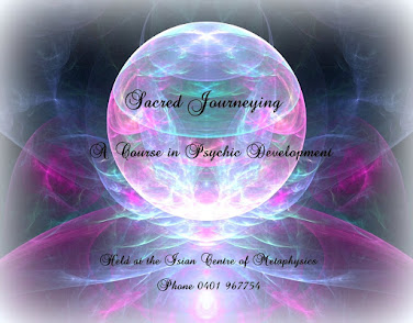 APRIL: Sacred Journeying: Psychic Development Course
