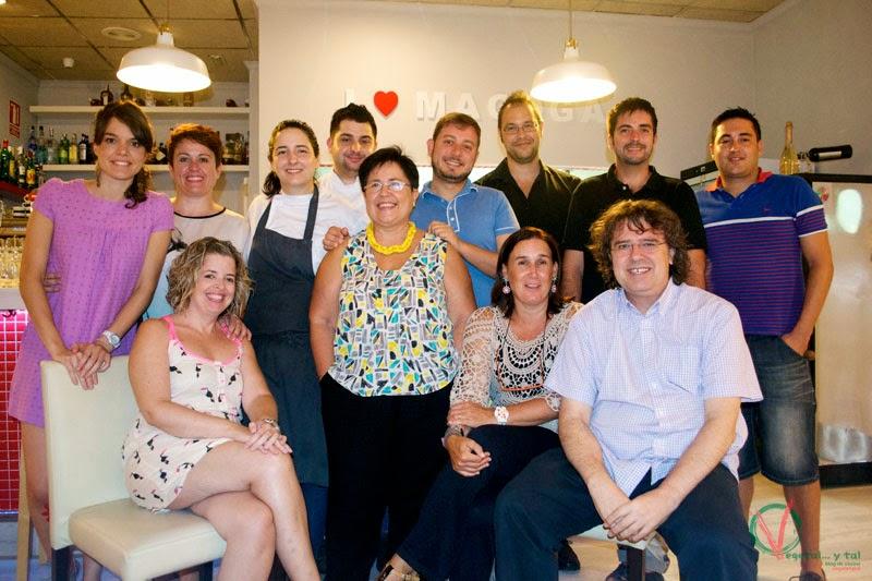 Gastrobloggericos murcianos con María y Miguel, del restaurante Magoga.