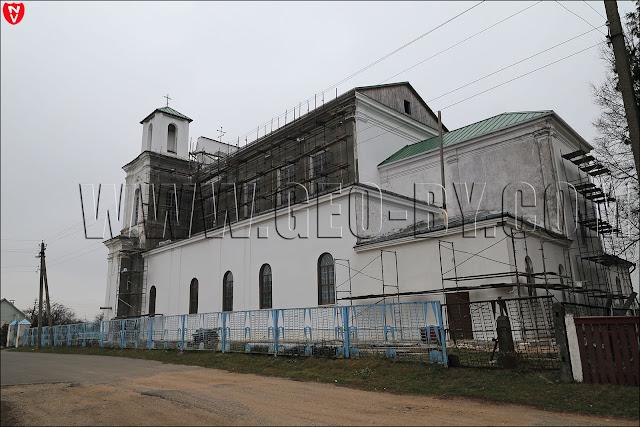 Столовичи. Костел Иоанна Крестителя