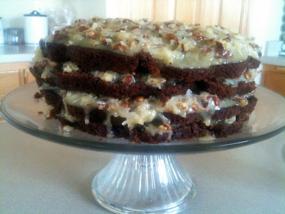 Can You Put Baking Powder In A German Chocolate Cake