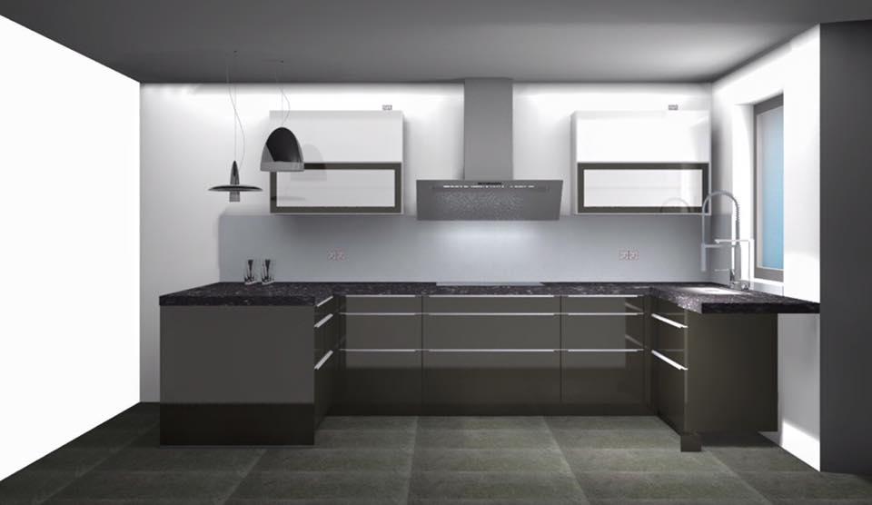 reihenhaus von werner wohnbau in bickenbach 3d planung k che. Black Bedroom Furniture Sets. Home Design Ideas