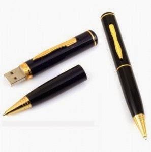 Pulpen Kamera Tersembunyi - Spy Camera Pen