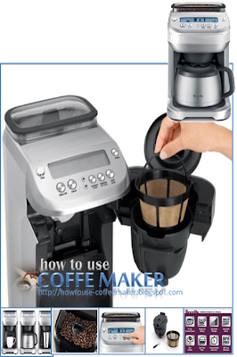 Breville Coffee Maker Gold Filter : Breville BDC600XL YouBrew Drip Coffee Maker How To Use Coffee Maker