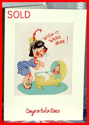 Buy Vintage Vic's Handmade From Vintage Illustrations, New Baby and Christening Cards