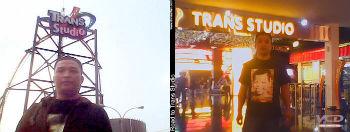 Liburan di Trans Studio Bandung