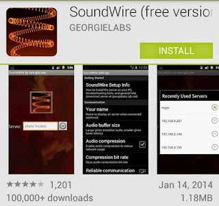 install soundware di android