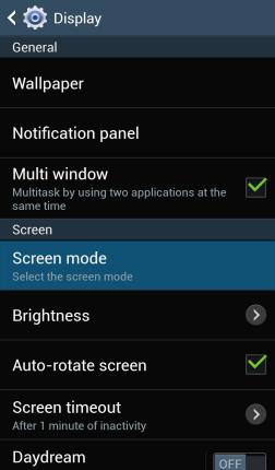Cara Mengaktifkan Fitur Adapt Display di Samsung Galaxy S4