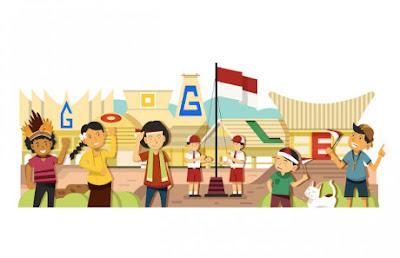 revolusiilmiah.com - HUT RI Ke-69 Upacara Bendera