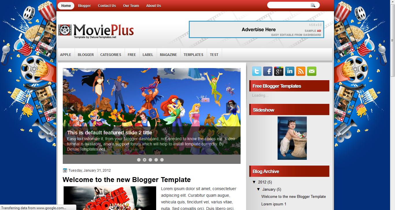 10 free professional blogger templates maxwellsz