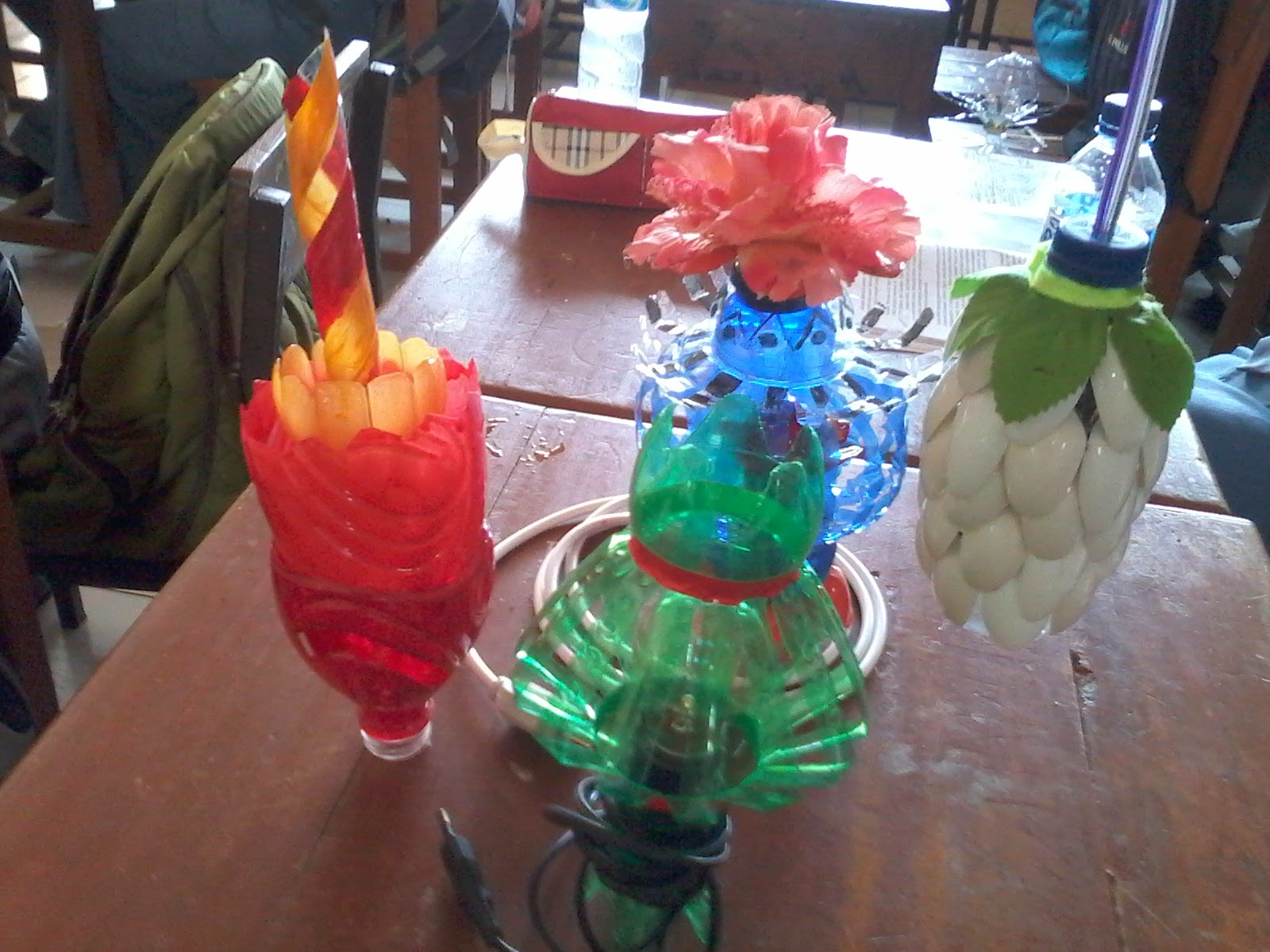 Hasil Karya Lampion Dari Limbah Botol Plastik Prakarya Amp Kewirausahaan
