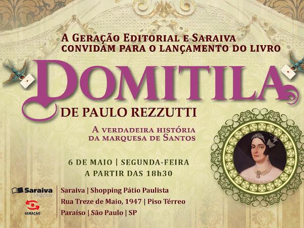 Lançamento do livro de Paulo Rezzutti, autor de Titília e o Demonão.