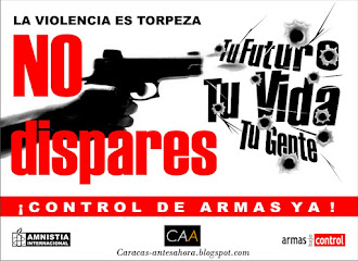 No a las armas