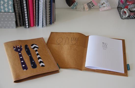 binedoro Blog, nähen, Rezeptemappe, Washme Papier, waschbares Pappier, DIY, Material, Produkttest