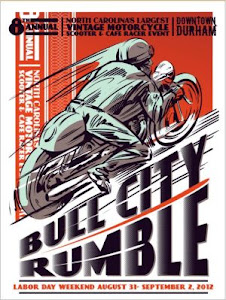 2012 Bull City Rumble Poster