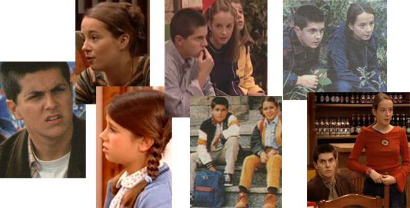 Romay, Aufiero e Canosa eran os nenos de Mareas Vivas, Fito, Laura e Iria