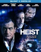 Heist (2015) Blu-ray Cover