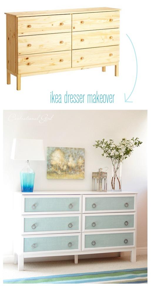 The 2 chance ikea hack inspiration ikea tarva textured Ikea furniture makeover