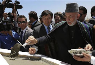 Afghan President , Hamid Karza, Indian officials, Afghanistan, Pakistan, Kabul, Nawaz Sharif , Aimal Faizi , Afghan leader , Durand Line, Afghan security institutions, Afghan security, Afghan military officers