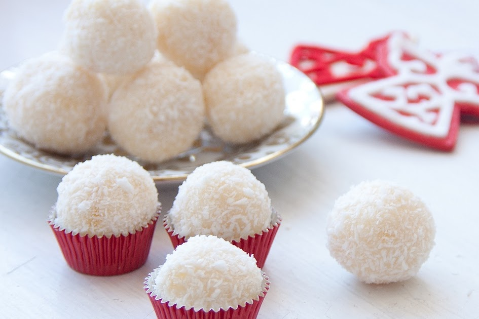 The Hedonista Recipes White Chocolate Truffles