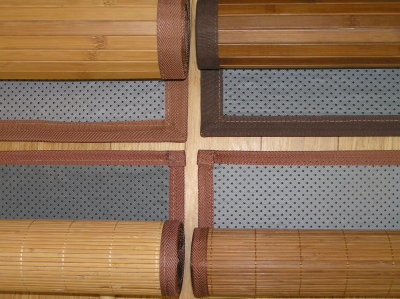 Bamboo Runner Rug Bamboo Valance Photo