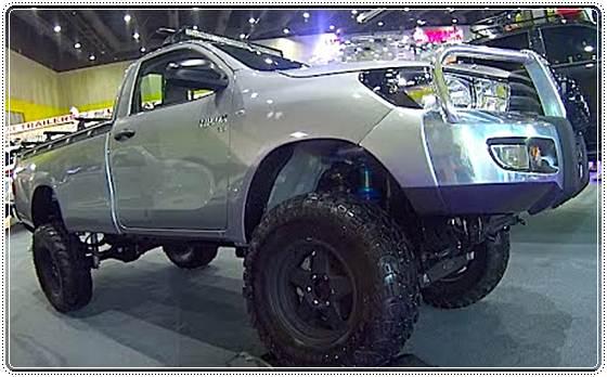 2017 Toyota Hilux Lift Kit
