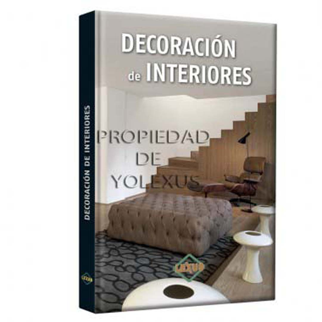 Libro de decoracion de interiores credilibros for Libros de decoracion de interiores