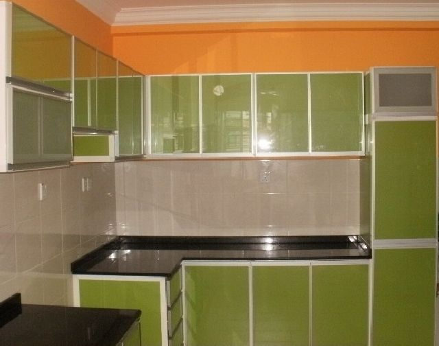 Al taif aluminium fabrication for Kitchen cabinets aluminium