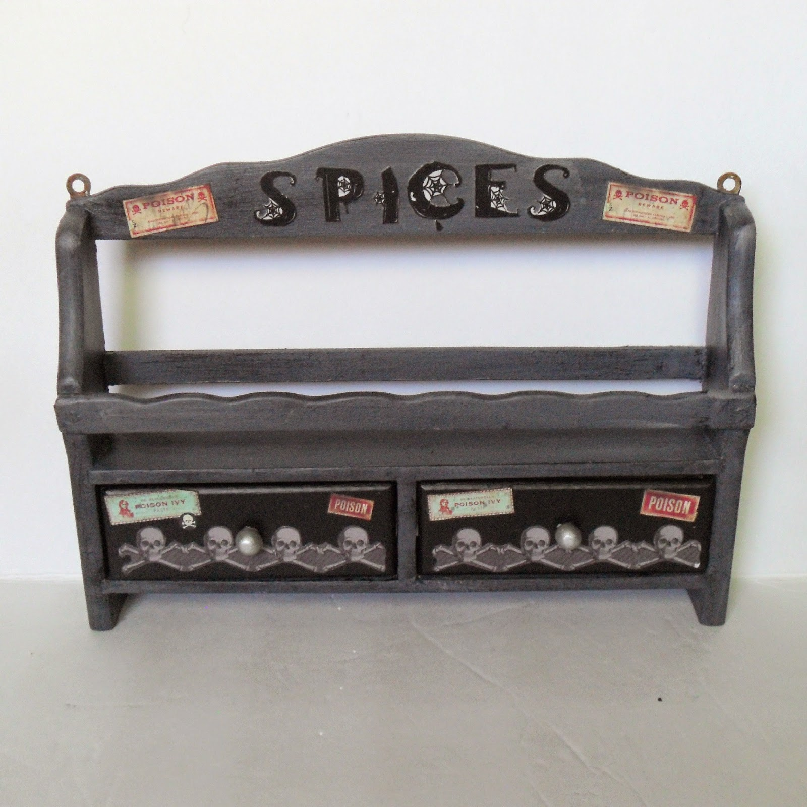 Gothic Spice Rack