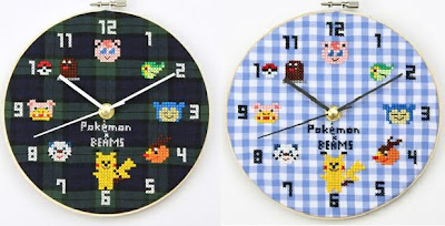 BEAMS Pokemon Wall Clock