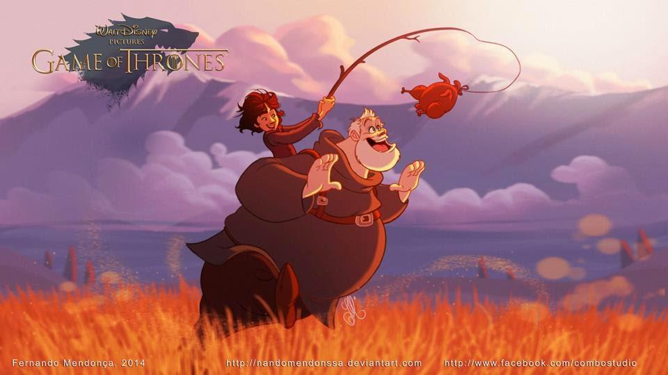 Versión Disney de Juego de Tronos - Hodor