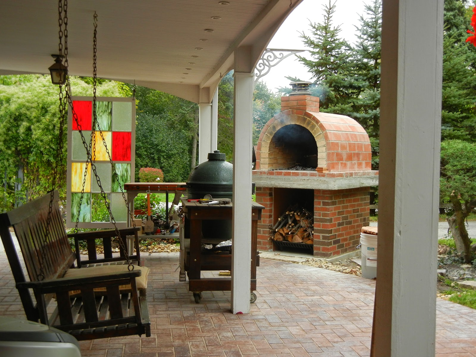 creagioli wood fired brick pizza oven in california by brickwood