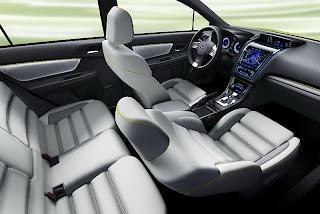 2011 Subaru XV Concept – Electro Yellowgreen Exterior